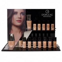 Expositor de Maquillajes Fluídos D'orleac