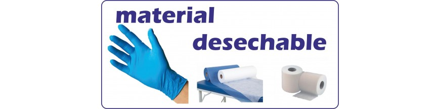 MATERIAL DESECHABLE
