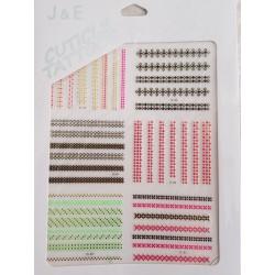 Pack de pegatinas con diferentes diseños