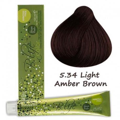 tinte b.life color sin amoniaco nº 5.34