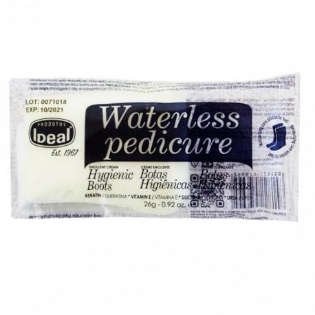 botas higienicas con crema especial pedicuras