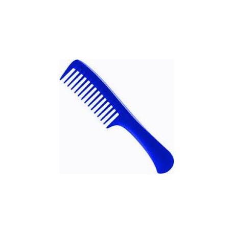 peine escarpidor pua ancha azul