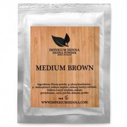 Polvo de Henna Imperium - Refill-10 gr. medium brown
