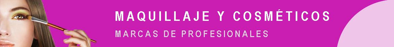 Productos profesionales de maquillaje y cosmética